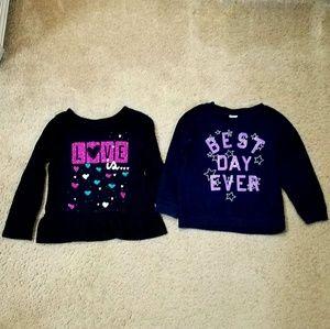 3t girls shirts. (2)